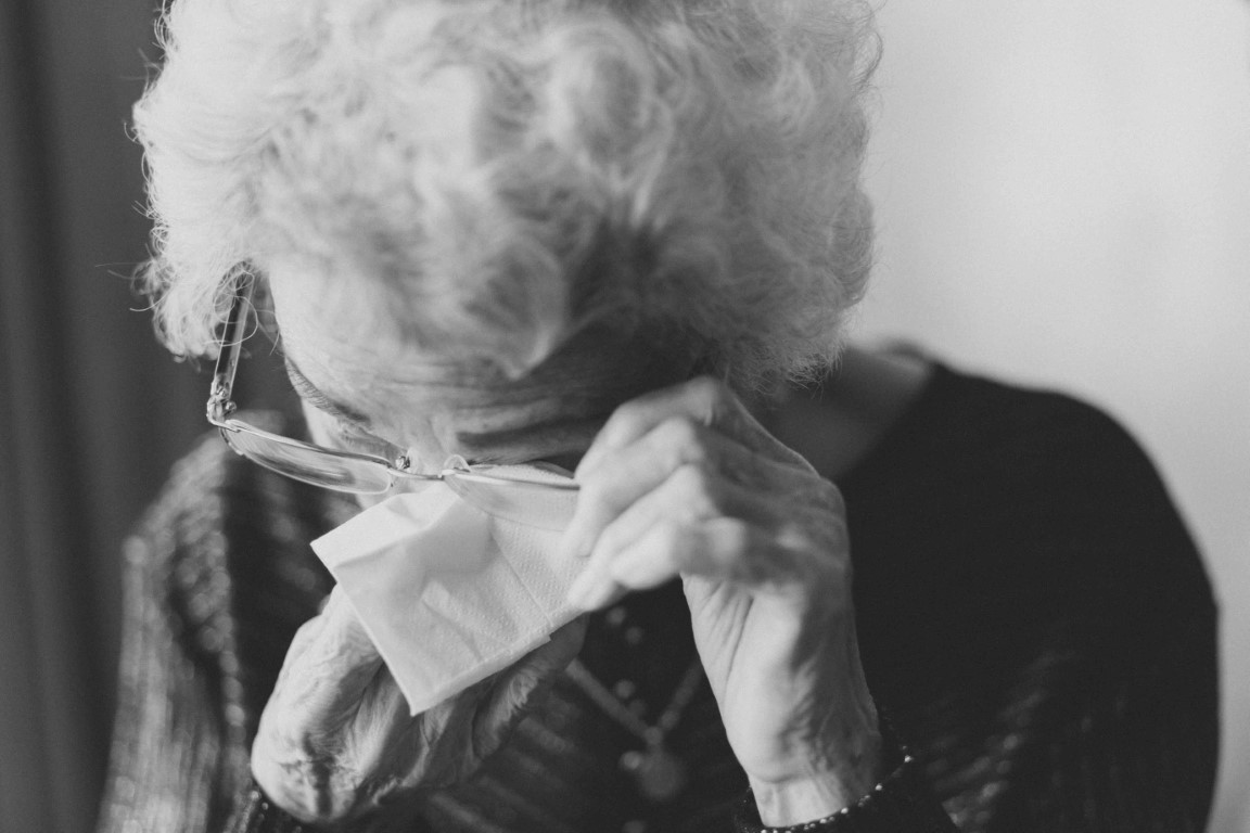 Grandparent's grief- image by Jeremy Wong